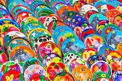 mexikansk keramik Arkivfoton