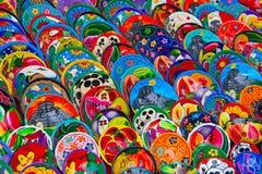 mexikansk keramik Royaltyfri Fotografi