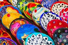 mexikansk keramik Royaltyfria Bilder