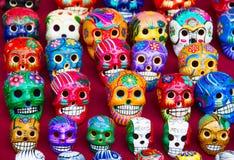 mexikansk keramik Arkivbilder