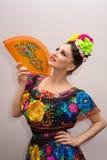 mexikansk kvinna arkivfoto