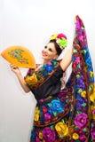 mexikansk kvinna royaltyfria foton
