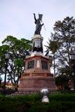 mexikansk miguel för hjältehidalgo staty Arkivbild