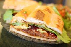 mexikansk milanese smörgåsstiltorta arkivfoto