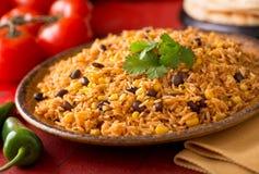 mexikansk rice Arkivbilder