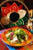 mexikansk sallad Arkivfoton