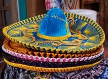 mexikansk sombrero Fotografering för Bildbyråer