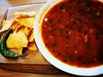 mexikansk soup Arkivbild