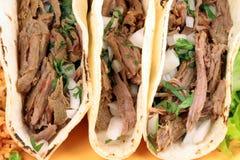 mexikansk tacos royaltyfri foto