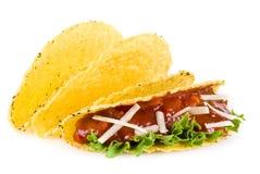 mexikansk tacos arkivfoto