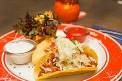 mexikansk tacos Arkivfoton