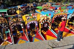 mexikanska gondoler Arkivbild