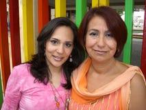 mexikanska kvinnor Fotografering för Bildbyråer