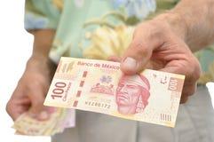 mexikanska pesos Royaltyfri Bild