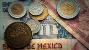 mexikanska pesos arkivfilmer