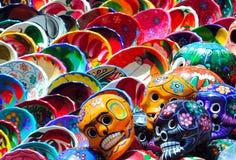 mexikanska plattor royaltyfri fotografi