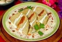 mexikanska quesadillas Fotografering för Bildbyråer