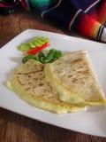 mexikanska quesadillas Arkivfoto