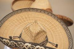 mexikanska sombreros två för charros Royaltyfri Bild