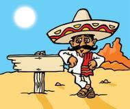 mexikanskt tecken Fotografering för Bildbyråer