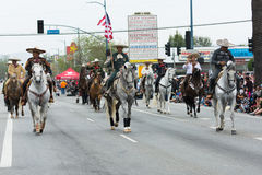 Mexiko-amerikanische Reiter Lizenzfreie Stockfotografie