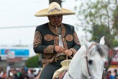 Mexiko-amerikanischer Reiter Stockbild