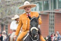 Mexiko-amerikanischer Reiter Lizenzfreies Stockfoto