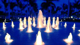 Mexiko-Brunnen Lizenzfreie Stockfotografie