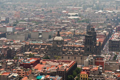Mexiko City Zocalo lizenzfreie stockfotos