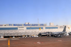 Mexiko- Cityflughafen Lizenzfreie Stockfotos