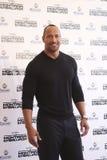 Mexiko- Cityschauspieler Dwayne Johnson Lizenzfreie Stockfotos