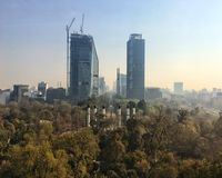 Mexiko- CitySkyline Lizenzfreie Stockbilder
