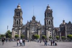 Mexiko- Citystadtkathedrale, Mexiko City, Mexiko lizenzfreies stockbild