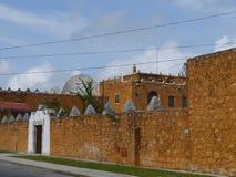 Mexiko contiene el viejo stil colonial Mérida Imagenes de archivo