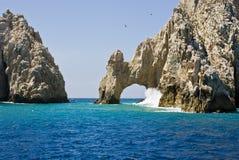 Mexiko - El ACRO de Cabo San Lucas Stockfotos
