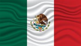 Mexiko-Flagge Stockfotos