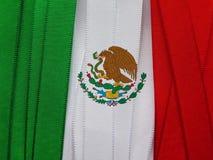 Mexiko-Flagge oder -fahne Lizenzfreies Stockfoto