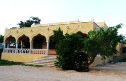 Mexiko houses colonial old stil Merida Stock Image