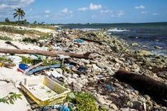 Mexiko-Küstenlinien-Verschmutzungs-Problem 2 lizenzfreies stockfoto