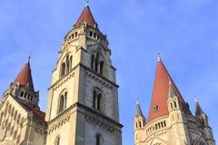 Mexiko-Kirche in Wien Stockfotos