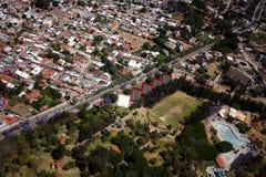 Mexiko-Luftaufnahme Stockbilder