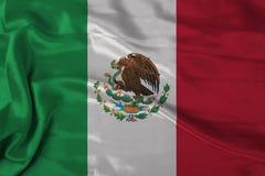 Mexiko-Markierungsfahne Lizenzfreie Stockbilder