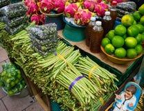 Mexiko-Markt vegtables Lizenzfreies Stockfoto