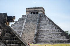 Mexiko Maya Chichen Itza 6 stockbilder