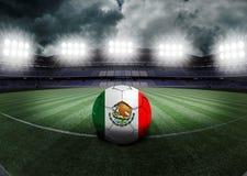Mexiko-Stadion Lizenzfreies Stockfoto