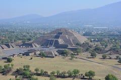 mexiko teotihuacan lizenzfreie stockfotos