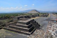 mexiko teotihuacan Lizenzfreies Stockbild