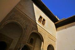 Mexuar, Alhambra, Granada, Spagna del sud fotografia stock