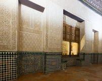Mexuar Hall at   Alhambra.  Granada Stock Photography