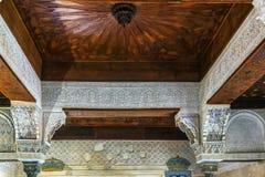 Mexuar Hall in Alhambra palace, Granada, Spain Stock Photo
